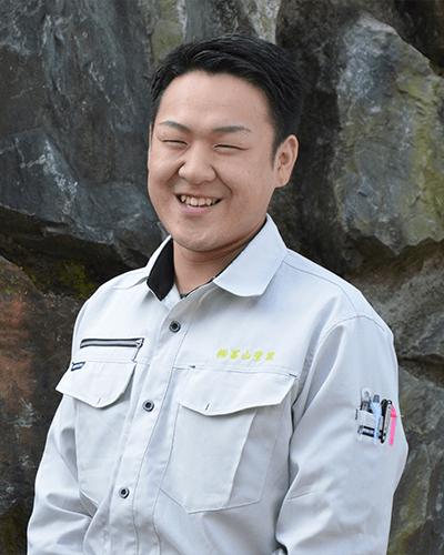 工事管理部 部長・営業担当 長山 洋平(ナガヤマ ヨウヘイ)