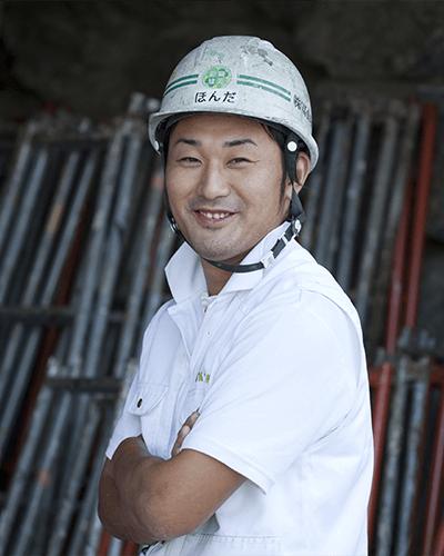品質管理室長・工事部本部長 本多 淳(ホンダ ジュン)